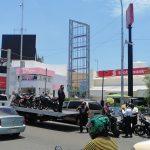 Infracciona Policía Vial a motociclistas que incumplían el Reglamento